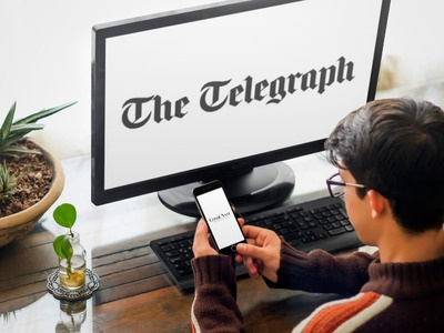 Telegraph have an extreme digital makeover