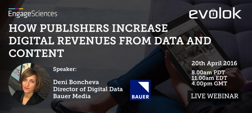 Webinar: How Publishers Increase Digital Revenues From Data and Content