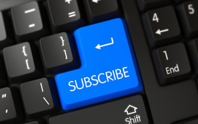 Subscriptions. An Update On Publisher's Strategies