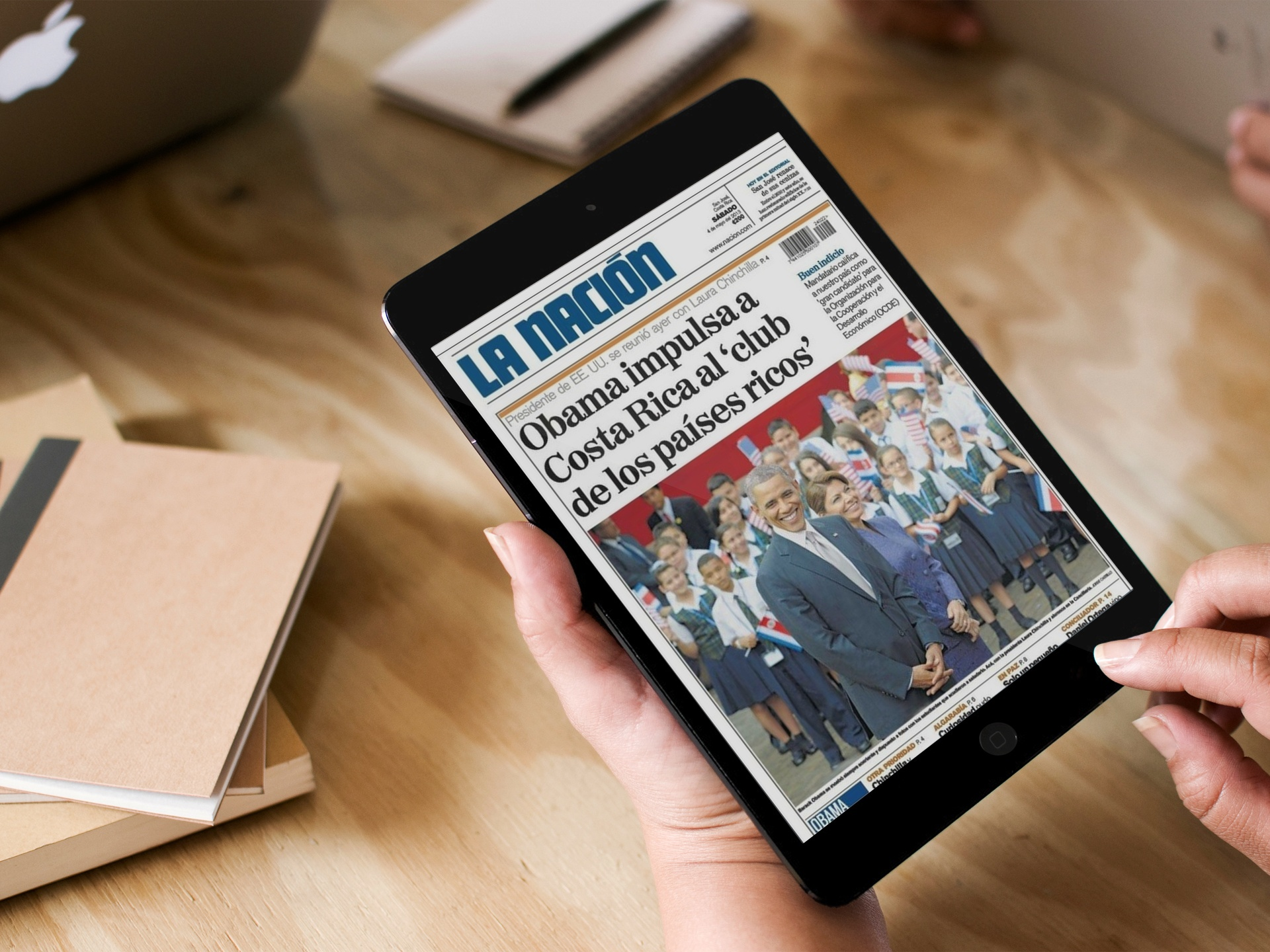 Evolok Appointed By Grupo Nación S.A., largest publisher in Costa Rica to provide Paywall and Identity Solution.